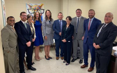 Dayspring highlights the success of school-based care to Kentucky Department of Education and Cabinet for Health and Family Services